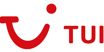 Logo for TUI Group.